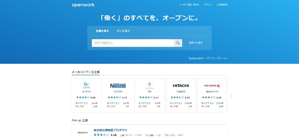 OpenWorkのイメージ