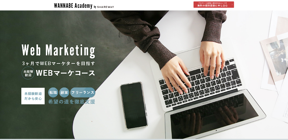 Wannabe Academyの評判のイメージ